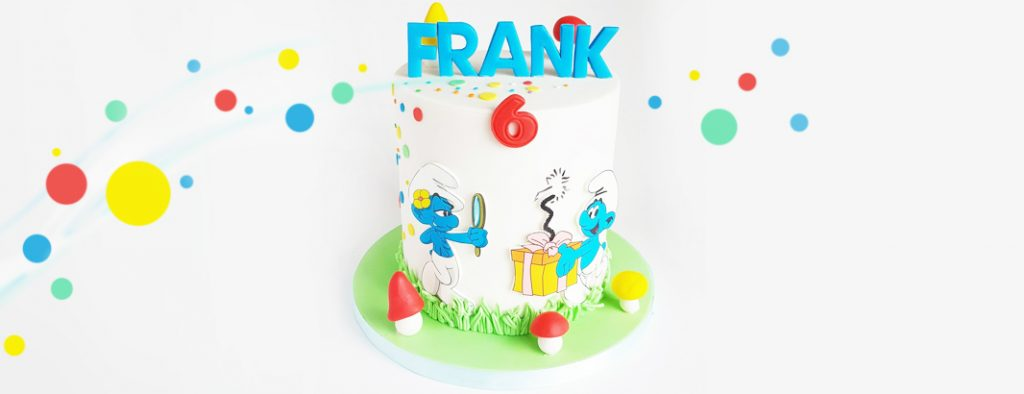 Birthday Cakes - Smurfs